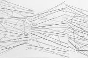 Sem título - vinil adesivo sobre madeira - 200 x 150 cm - 2013