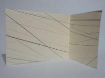 Grafite sobre papel dobrado - 30x15cm - 2009