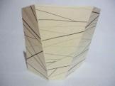 Grafite sobre papel dobrado - 30 x15cm - 2009