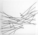 Sem título - barras de aço sobre madeira - 80x80 cm - 2013