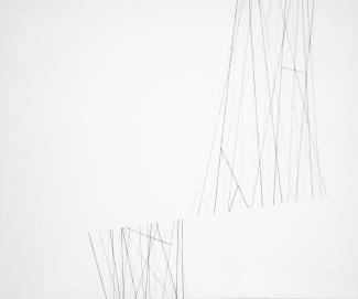 Sem título - Linha s/ tela - 70x50cm - 2014
