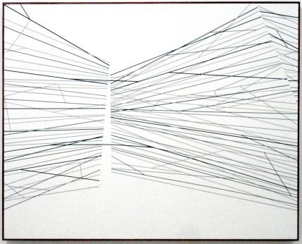 Sem título - vinil adesivo sobre madeira - 120x100 cm - 2013