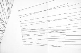 Sem título - instalação - linhas pintadas - 680x350x430cm - 2016