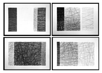 Sem título - Grafite s/ papel - 30 x 20 cm (cada) - 2016