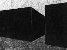 Sem título - Grafite s/ papel - 100 x 80cm - 2016