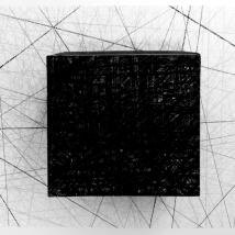 Lápis sobre papel dobrado - 100 x 70 x 30cm - 2018