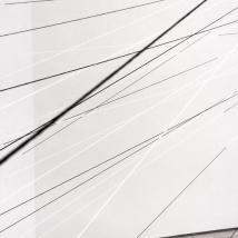Instalação - linhas de algodão e tinta acrílica - 2018