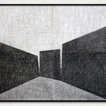Lápis sobre papel - 200 x 150 cm - 2018