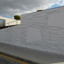 Vinil adesivo sobre parede - 15 x 4 mt - 2019
